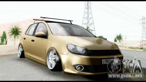 Volkswagen Golf 6 para GTA San Andreas