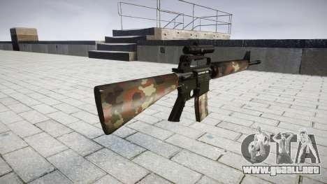 El rifle M16A2 [óptica] berlín para GTA 4 segundos de pantalla