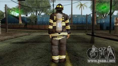 GTA 4 Skin 38 para GTA San Andreas segunda pantalla