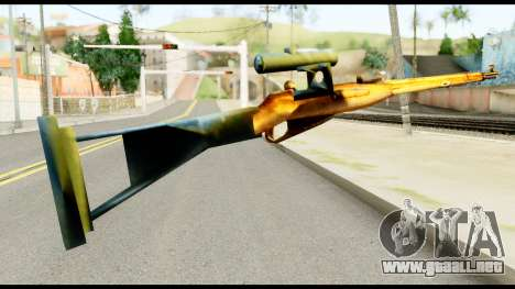 Mosin Nagant from Metal Gear Solid para GTA San Andreas segunda pantalla