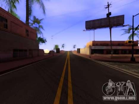 Mejora de la textura de carreteras para GTA San Andreas segunda pantalla