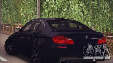 BMW M550d 2014 para la visión correcta GTA San Andreas