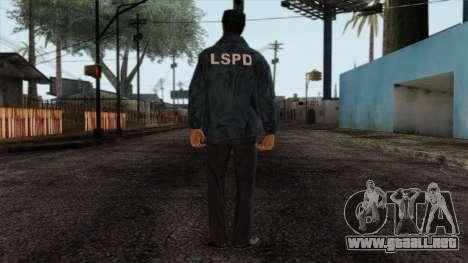 Police Skin 4 para GTA San Andreas segunda pantalla