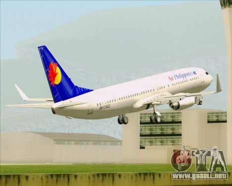 Boeing 737-800 Air Philippines para GTA San Andreas