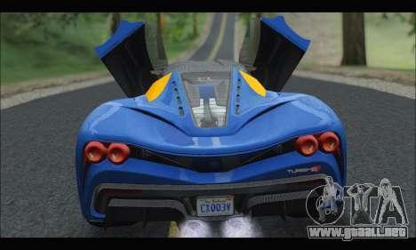 Grotti Turismo R v2 (GTA V) para la visión correcta GTA San Andreas