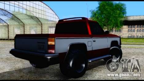 Rancher Hunter para GTA San Andreas left