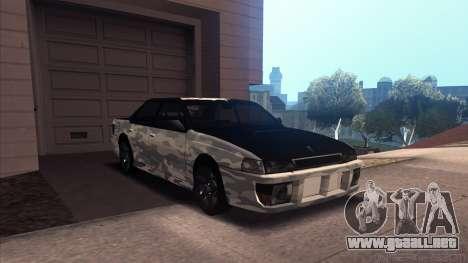 Sultan Winter Camo para GTA San Andreas