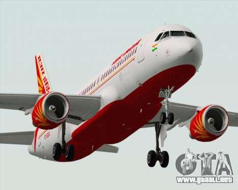 Airbus A320-200 Air India para el motor de GTA San Andreas