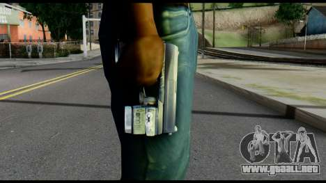 Socom from Metal Gear Solid para GTA San Andreas tercera pantalla