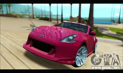 Nissan 370Z 2010 Stanced para GTA San Andreas