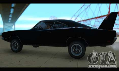 Dodge Charger RT para GTA San Andreas left