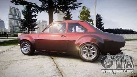 Ford Escort Mk1 para GTA 4 left