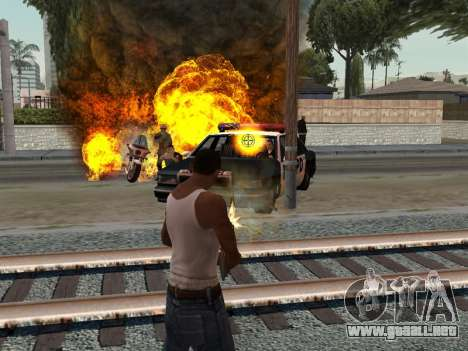 Realistic Effect 3.0 Final Version para GTA San Andreas