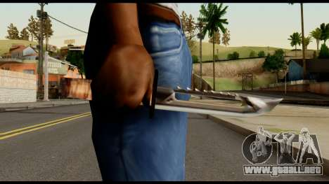 Survival Knife from Metal Gear Solid para GTA San Andreas tercera pantalla