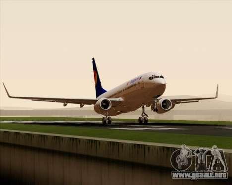 Boeing 737-800 Air Philippines para vista lateral GTA San Andreas