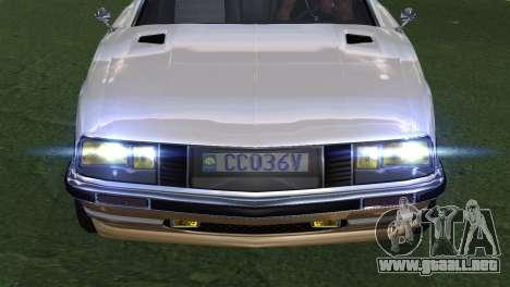 GTA 5 Lampadati Pigalle (IVF) para GTA San Andreas vista hacia atrás