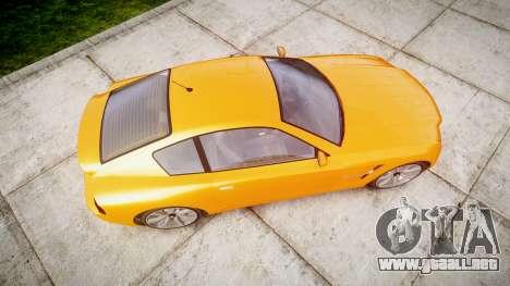 GTA V Schyster Fusilade Tuning para GTA 4 visión correcta