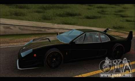Turismo Limited Edition para GTA San Andreas vista posterior izquierda