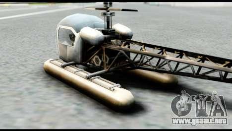 Beta Seasparrow para GTA San Andreas left