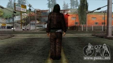 GTA 4 Skin 84 para GTA San Andreas segunda pantalla