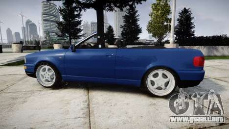 Audi 80 Cabrio us tail lights para GTA 4 left