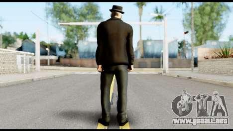 Heisenberg from Breaking Bad v2 para GTA San Andreas segunda pantalla