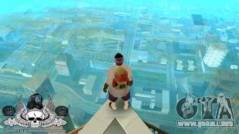C-HUD Gueto de Habitación para GTA San Andreas segunda pantalla