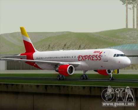 Airbus A320-200 Iberia Express para la visión correcta GTA San Andreas