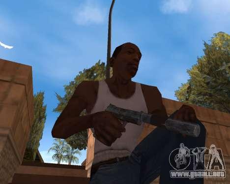 Año nuevo Pack de Armas para GTA San Andreas