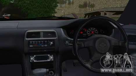 Nissan Silvia S14 Ks para GTA San Andreas vista posterior izquierda