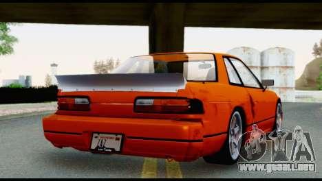 Nissan Silvia S13 Missile para GTA San Andreas left