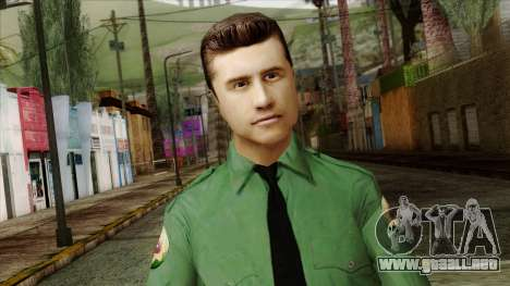 Police Skin 8 para GTA San Andreas tercera pantalla