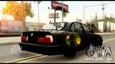 BMW E32 para GTA San Andreas left