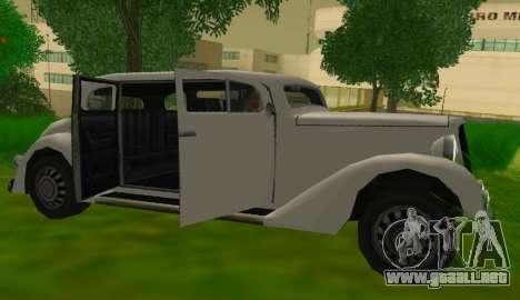 Hustler Limousine para la visión correcta GTA San Andreas