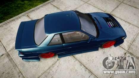 Nissan Silvia S13 1JZ para GTA 4 visión correcta