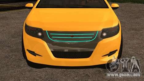 Cheval Surge 1.1 (IVF) para la visión correcta GTA San Andreas