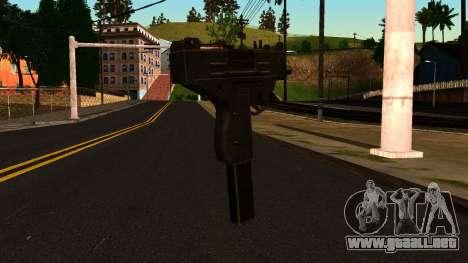 Micro SMG from GTA 4 para GTA San Andreas segunda pantalla