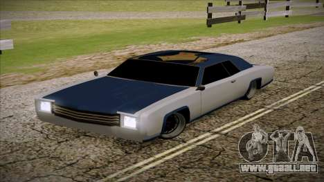 Buccaneer 2.0 para GTA San Andreas