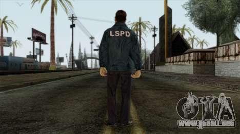 Police Skin 9 para GTA San Andreas segunda pantalla