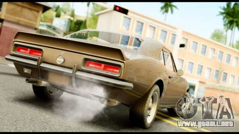 Chevrolet Camaro SS para GTA San Andreas left