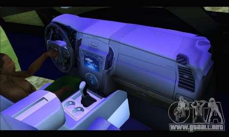 Chevrolet S10 LTZ 2014 para la visión correcta GTA San Andreas