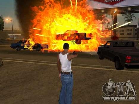 Realistic Effect 3.0 Final Version para GTA San Andreas segunda pantalla