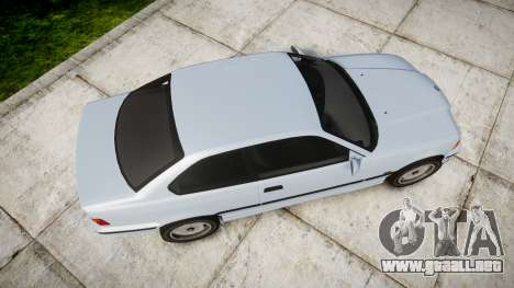 BMW E36 M3 [Updated] para GTA 4 visión correcta