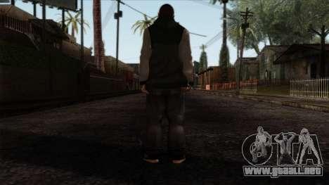 GTA 4 Skin 74 para GTA San Andreas segunda pantalla