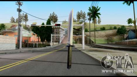 Vamp Knife from Metal Gear Solid para GTA San Andreas