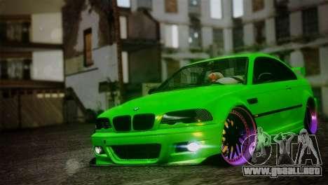 BMW M3 E46 MILKA para GTA San Andreas
