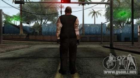 GTA 4 Skin 43 para GTA San Andreas segunda pantalla