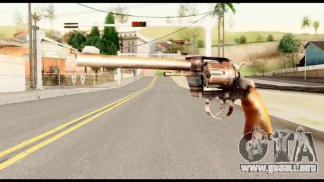 CSAA from Metal Gear Solid para GTA San Andreas