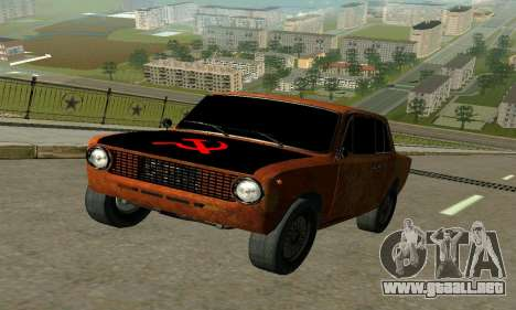 VAZ 2101 Ratlook v2 para GTA San Andreas left