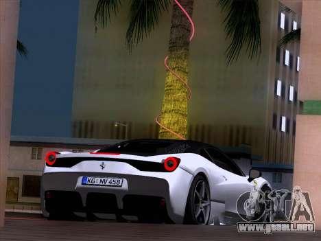 Ferrari 458 Special para la visión correcta GTA San Andreas
